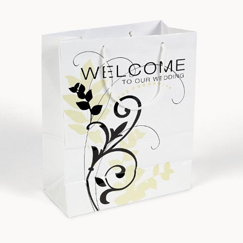 Welcome To Our Wedding Gift Bags (1 dz)