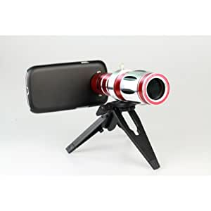 20X Zoom Phone Camera Lens Telescope Case For Samsung S4 I9500**
