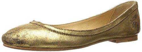 frye-carson-ballet-mujer-us-11-oro-zapatos-planos