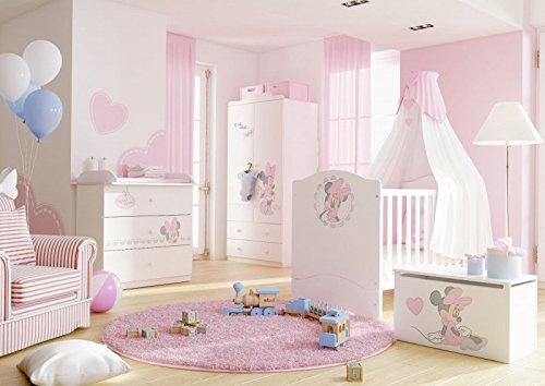 Schlafzimmer-Set Kindermöbel 'Minnie Mouse' Jugendzimmer komplett Kinderzimmer online kaufen