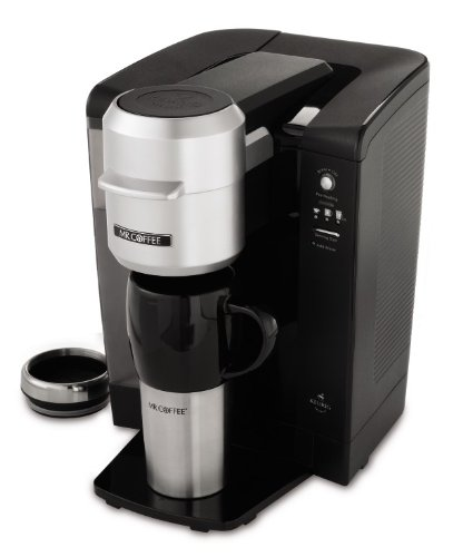 Mr. Coffee Single Serve Coffee Brewer Powered by Keurig Brewing Technology from Jarden Consumer ...