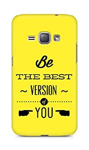 Amez Be the Best version of Yourself Back Cover For Samsung Galaxy J1 2016