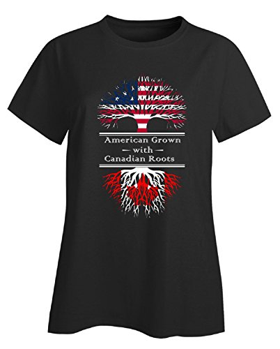 american-grown-with-canadian-roots-canada-gift-ladies-t-shirt-ladies-l-black