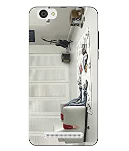 LYF WIND 6 Printed Back Cover By Case Cover
