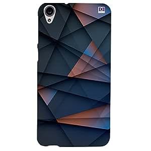 Triangle Design - Mobile Back Case Cover For HTC Desire 820