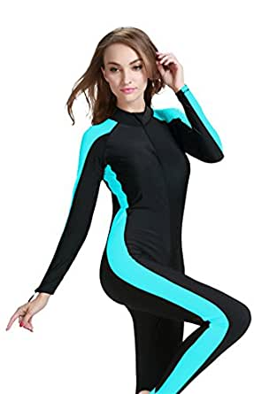 FOCLASSY Swimming Costume Ladies Sports Swimsuit One Piece Long Sleeves Plus Size Zip Front Push Up Athletic Swimwear £ Prime. Zhuhaitf Womens Modest Swimsuits 2 Pieces Muslim Swimwear Burkini Surfing Suit With Swimming Cap # £ - £ Prime. 5 out of 5 stars 1.