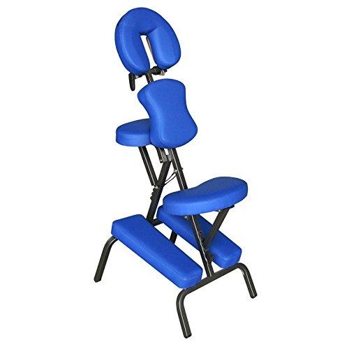 chaise-de-massage-en-physiotherapie-bleu