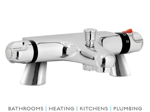 Home Of Ultra Chrome Thermostatic Bath Shower Mixer CD324