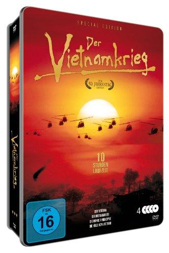 Der Vietnamkrieg - 50 Jahre-Edition (3 DVDs) [Metallbox]