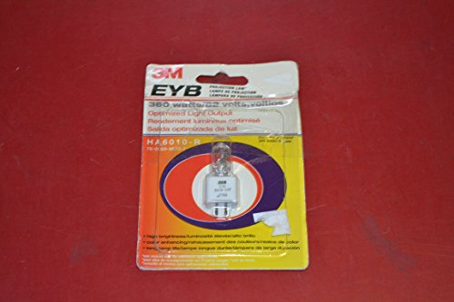 3M EYB Projection Lamp 360W/82V HA6010-R Bulb (78-6969-9670-7) for 3M - 4405, 4406, 4407, 4408, 4410. 4415; Apollo - Horizon 2, 16002, 3000, 3002, Venture (4000); Buhl - 9013, 9014; Dukane - SP2100 Series, SP2200 Series, SP2123, Sunsplash A, 632, 633; Eiki - 3850A, 3860, 3870A, 3900 Series, 392; Elmo - HP-L1102, HP-L3600, HP-L11 (82v 360w Bulb compare prices)