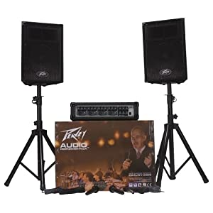 Peavey Audio Performer Pack Portable System Amazoncouk