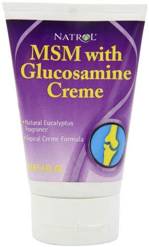 Natrol MSM et glucosamine Creme, 4 onces Tube
