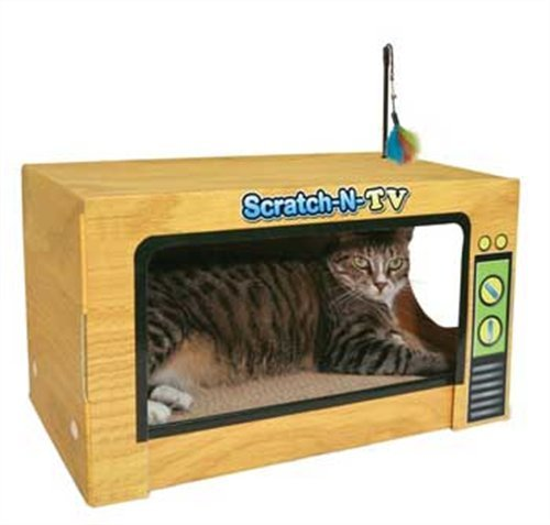 Ware ManufaCounturing CWM12004 Scratch-N-Tv Scratcher Hideout