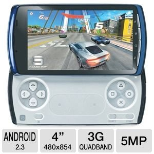 Sony Ericsson Xperia PLAY 4G R800a Unlocked Phone with Android 2.3, 5MP Camera, GPS and Wi-Fi – Stealth Blue U.S. Version