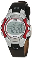 Timex Unisex T5G841 1440 Sports Digital Silver-Tone/Black Resin Strap Watch from Timex