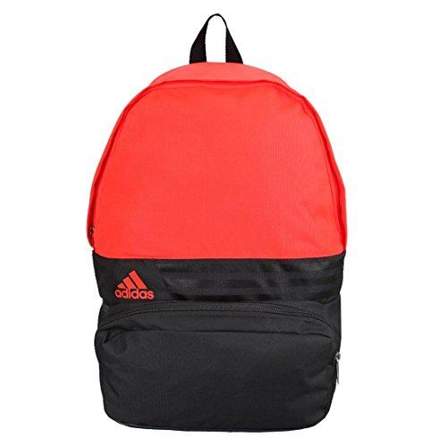 adidas - S23073, Zaino casual, grigio (gris foncé/noir/solar red), 1 Size