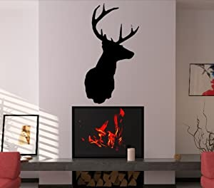 V c designs ltd tm deer head stag head decorative wall for Home decor uk ltd