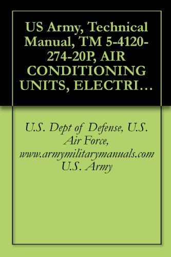 Us Army, Technical Manual, Tm 5-4120-274-20P, Air Conditioning Units, Electric Motor Driven; 9,000 Btu/Hr, Ve Compact, 115 Volt, Single Phase, 50/60 Hertz, ... 9,000 Btu/Hr, Vertical Co 20