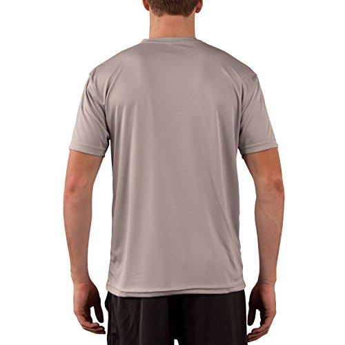 Vapor Apparel Men's UPF 50+ UV (Sun) Protection Performance Short Sleeve T-Shirt X-Large Athletic Grey
