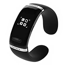 buy Shzons™ Bluetooth Smart Bracelet Wristwatch Oled Digital Watch Mp3 Player Answer Calling For Ios Iphone Samsung Htc Android Smart Phones(Black)