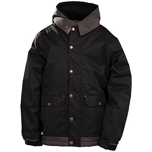 686 Boy's volte Dickies-Giacca da neve isolata industriale, colore: nero