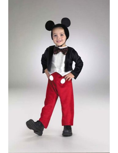 Mickey Mouse Deluxe 4 To 6 Kids Boys Costume