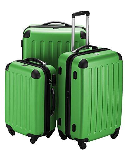 HAUPTSTADTKOFFER · Sets de bagages · (49;82;128 liters) · Serrure TSA · VERT