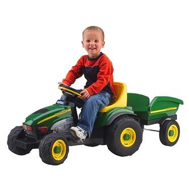 Peg Perego John Deere Farm Tractor Trailer