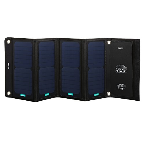 aukey-solar-charger-28w-with-2-usb-ports-5v-24a-max-per-port-4-sunpower-panels-for-better-conversion