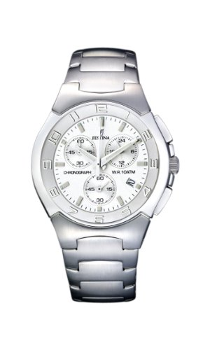 Festina Men's Chrono Watch F6698/1 With Steel Strap