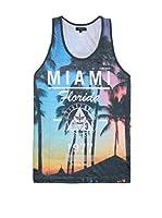 Firetrap Camiseta Tirantes Miami (Multicolor)