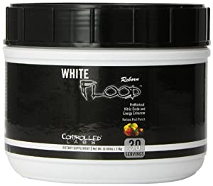 Controlled Labs White Flood Reborn Preworkout Supplement, Fruit Punch, 216 Gram