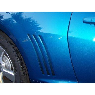 Camaro Faded Black Side Vent Decals, 2010-2012 Camaro (Camaro Gill Vent compare prices)