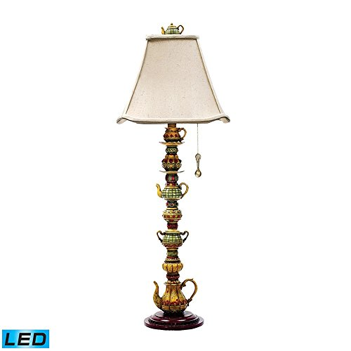 Tea Service Candlestick Table Lamp Led Bulb