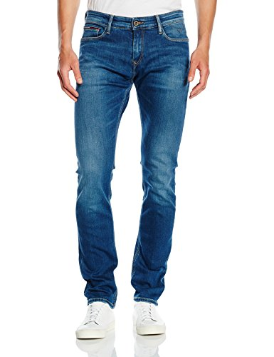 Tommy Hilfiger SIDNEY, Jeans da Uomo, Blu (Mid Comfort), W36/L34