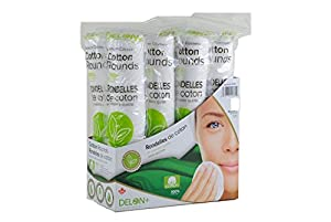 Delon 100% Cleansing Cotton Rounds, 800 Count