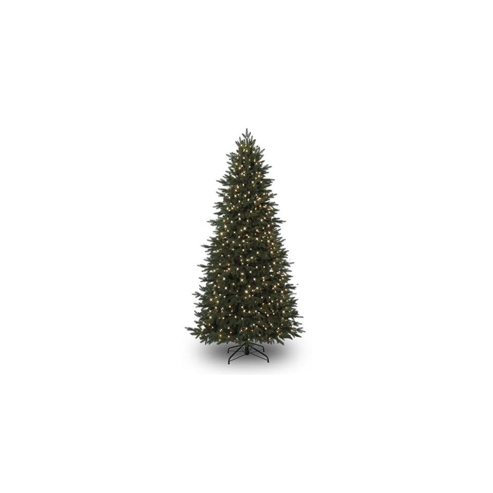 7.5 Natural Cut Grand Spruce Pre Lit Artificial Christmas Tree Clear F5 LED Lights   475 lights   1405 tips