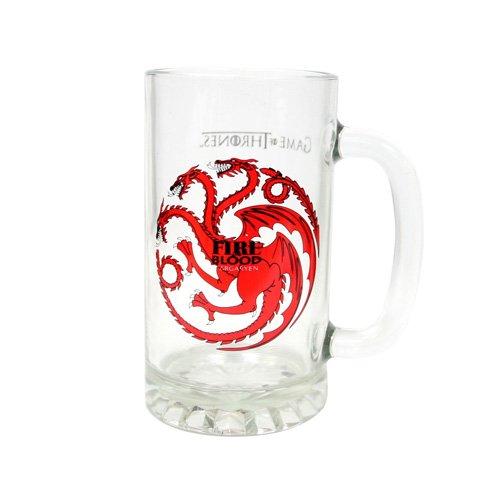 [Importato Dall'Inghilterra]Game Of Thrones Targaryen Bicchiere Da Birra