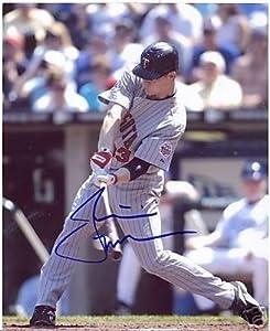 Justin Moreneau Minnesota Twins Signed 8x10 Photo W coa - Autographed MLB Photos by Sports+Memorabilia