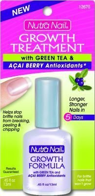 Nutra nail strengthener with green tea antioxidants