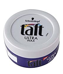 Schwarzkopf Taft Ultra Wax 75ml With Ayur Sunscreen Lotion 50ml