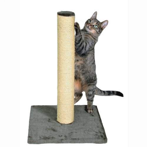 TRIXIE-Pet-Products-Parla-Scratching-Post-Gray
