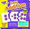 Easy Addition Fun-to-Know Puzzles