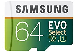 Samsung 64GB EVO Select Micro SDXC Memory Card, 80MB/s (MB-ME64DA/AM)