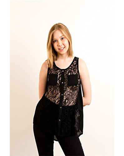 Exceptional Products - Camicia -  donna Nero  nero