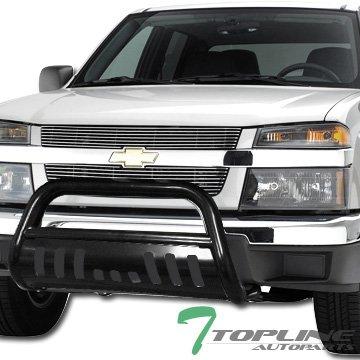 Topline Autopart HD Steel Bull Bar (Brush Push Bumper Grill Grille Guard) 05-11 Dodge Dakota Black (Grille Guard Dodge compare prices)