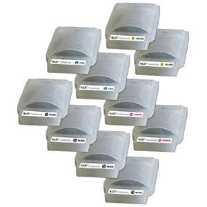 LD © Brother Compatible LC25 Bulk Set of 10 Ink Cartridges: 4 Black & 2 each of Yellow / Cyan / Magenta
