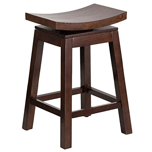 flash-furniture-26-high-saddle-seat-cappuccino-wood-counter-height-stool-with-auto-swivel-seat-retur