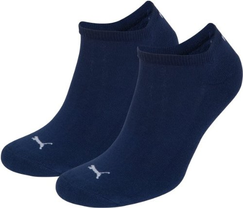 2 pairs of Puma Speed Cat Sneaker Socks with terry sole Gr. 35 - 46 Unisex, color:729 - estate blue;Größe Bekleidung:M