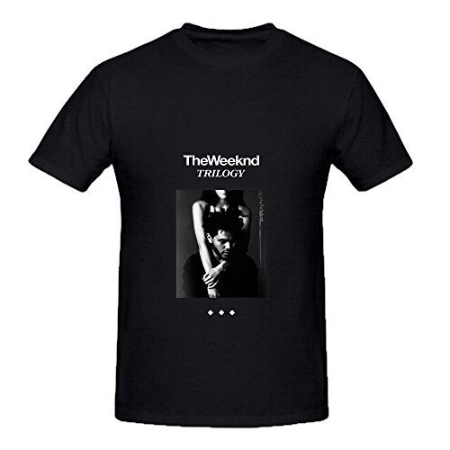 The Weeknd Trilogy Men Crew Neck Cool T Shirts Black (Iggy Concert Tickets compare prices)